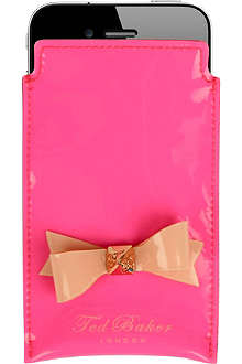 TED BAKER Jakkie bow iPhone case