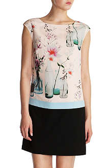 TED BAKER Nama floral tunic dress