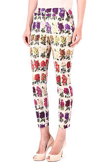 TED BAKER Roses in a Row printed trousers