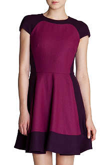 TED BAKER Colour-blocked dress