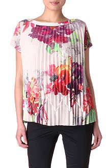TED BAKER Shelbie printed top