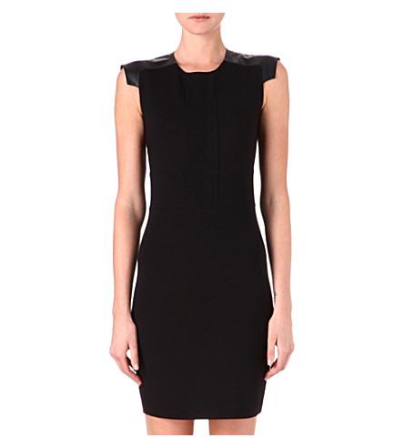 TED BAKER Eadha shoulder detail dress (Black
