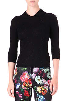 TED BAKER Diamanté-embellished jumper