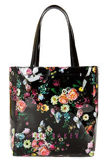 TED BAKER Senny oil painting umbrella ikon tote bag