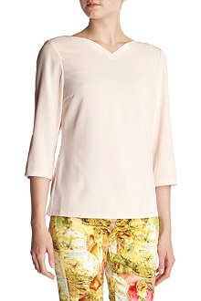 TED BAKER Kisoo heart neckline top