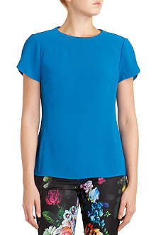 TED BAKER Mellisa sweetheart seam top