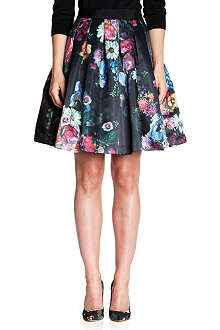 TED BAKER Flowtii oil painting skirt