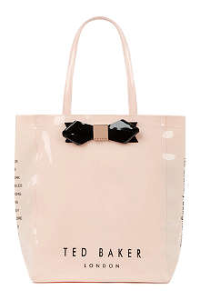 TED BAKER Bow shopper bag