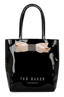 TED BAKER Tinicon small bow shopper bag