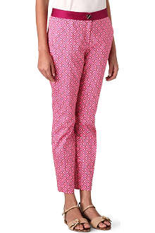 TED BAKER Geo-printed trousers