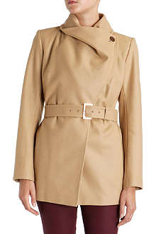 TED BAKER Adalya short drape jacket