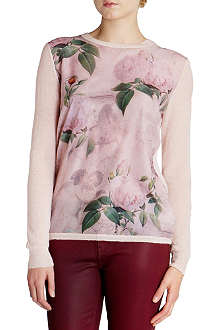 TED BAKER Sissi knitted jumper