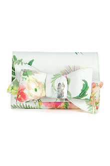 TED BAKER Whisley printed clutch