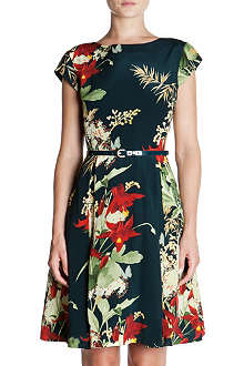 TED BAKER Torella printed dress