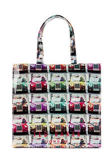 TED BAKER Taxicon printed tote