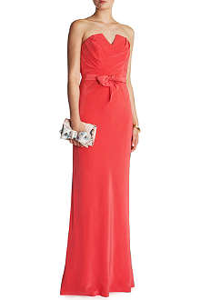 TED BAKER Cassii strapless maxi dress