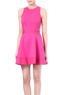 TED BAKER Hearn contrast-sides dress