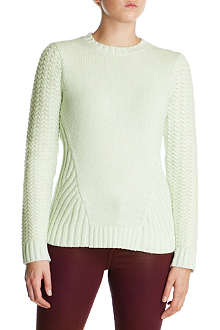 TED BAKER Cable knitted jumper