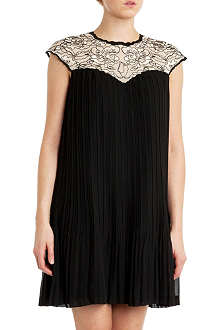 TED BAKER Wastila pleated dress