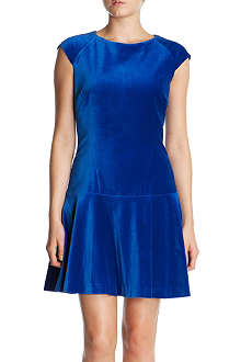 TED BAKER Tinna velvet dress