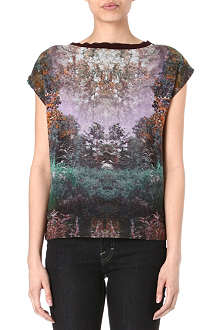 TED BAKER Heelah magical mist print t-shirt