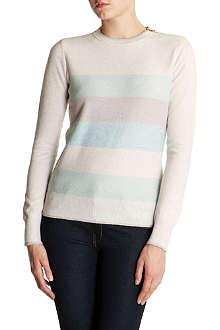 TED BAKER Striped sparkle jumper