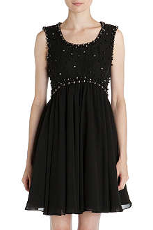 TED BAKER Davini embellished dress