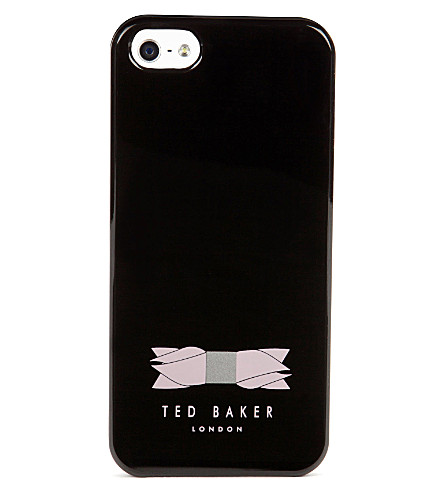 TED BAKER Melan bow phone case (Black