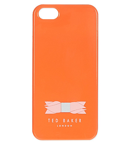 TED BAKER Melan bow phone case (Orange