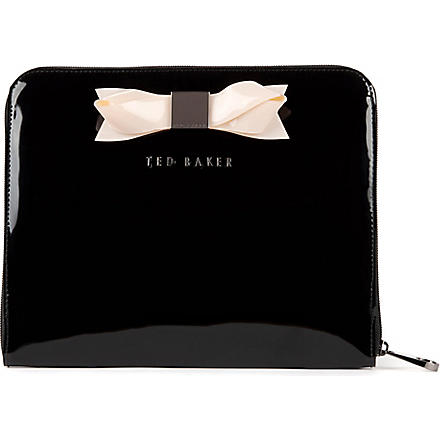 TED BAKER Tabcon bow tablet case (Black