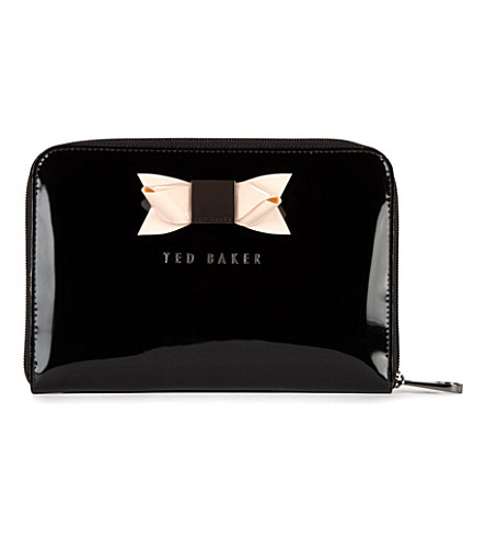 TED BAKER Desere bow mini tablet case (Black