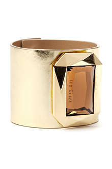 TED BAKER Mirrored leather bracelet
