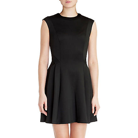 TED BAKER Skater dress (Black