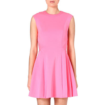 TED BAKER Nistee skater dress (Mid pink