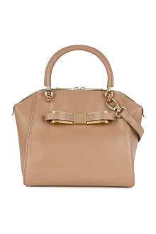 TED BAKER Bandook bow leather tote bag