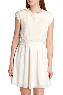 TED BAKER Milana pearl sleeve dress
