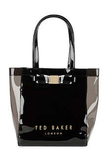 TED BAKER Lucon bow ikon small shopper bag
