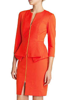 TED BAKER Jamtye structured zip dress