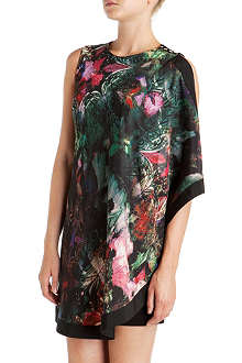 TED BAKER Reamma draped dress