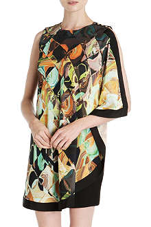 TED BAKER Breeda draped dress