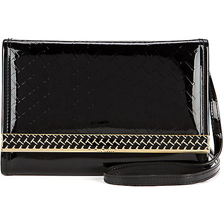 TED BAKER Embossed mini iPad case (Black