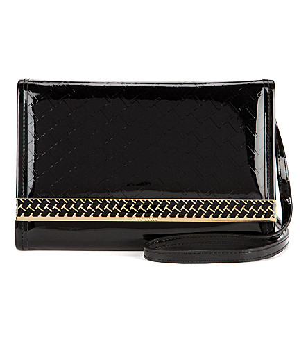 TED BAKER Embossed mini iPad case (Black