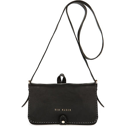TED BAKER Markun stab stitch bag (Black