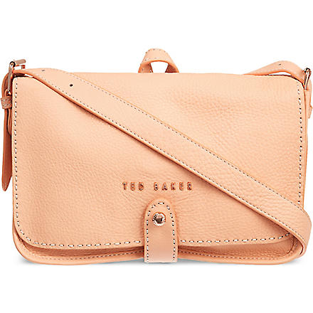 TED BAKER Markun stab stitch bag (Orange