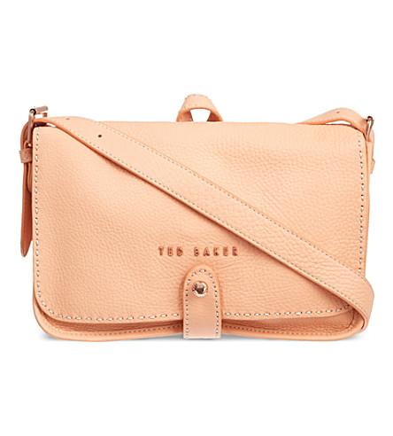 TED BAKER Markun stab stitch bag (Orange