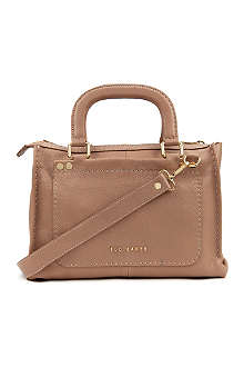 TED BAKER Hickory leather tote bag