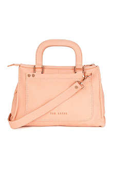 TED BAKER Hickory stab stitch bag