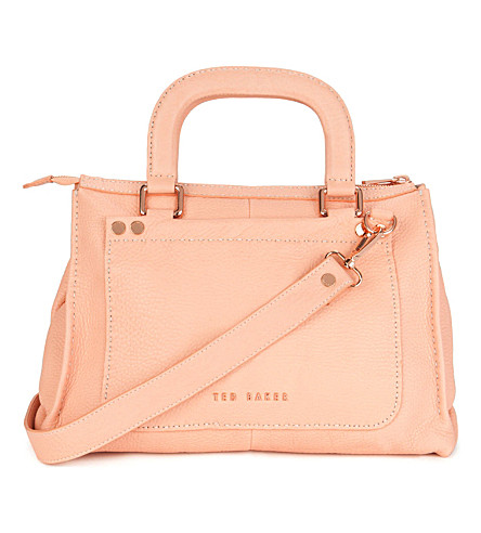 TED BAKER Hickory stab stitch bag (Orange