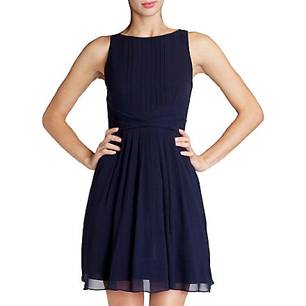 TED BAKER Saphira wrap waist dress (Navy