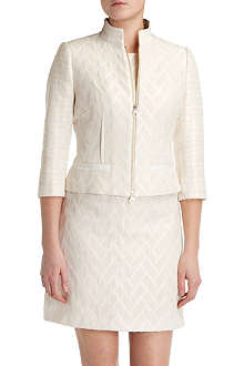 TED BAKER Flared peplum jacket